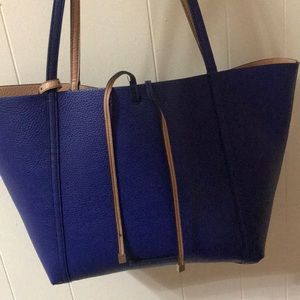 Armani Exchange Shoulder Blue Bag